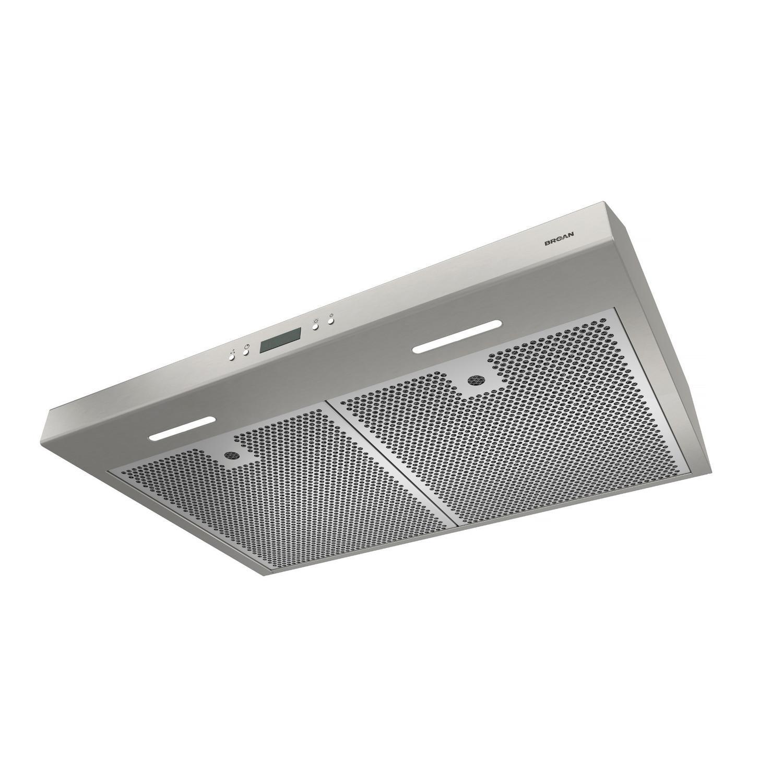 30-Inch Convertible Under-Cabinet Range Hood w/ Heat Sentry®, 400 CFM, Stainless Steel Photo #5