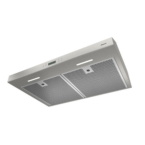 Broan® 42-Inch Convertible Under-Cabinet Range Hood w/ Heat Sentry®, 400 CFM, Stainless Steel