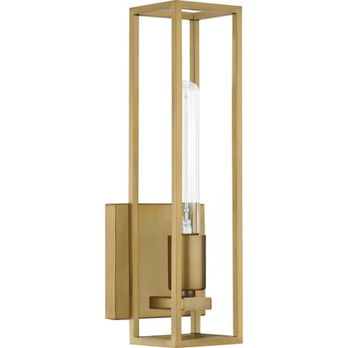 Quoizel - Leighton Wall Sconce in Weathered Brass