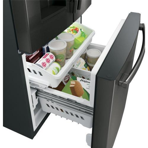 Gallery - GE® ENERGY STAR® 23.6 Cu. Ft. French-Door Refrigerator