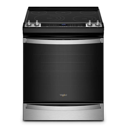 Whirlpool - 6.4 Cu. Ft. Whirlpool® Electric 7-in-1 Air Fry Oven