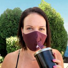 See Details - Happy Hour Reusable Face Mask in Titan Purple Eggplant