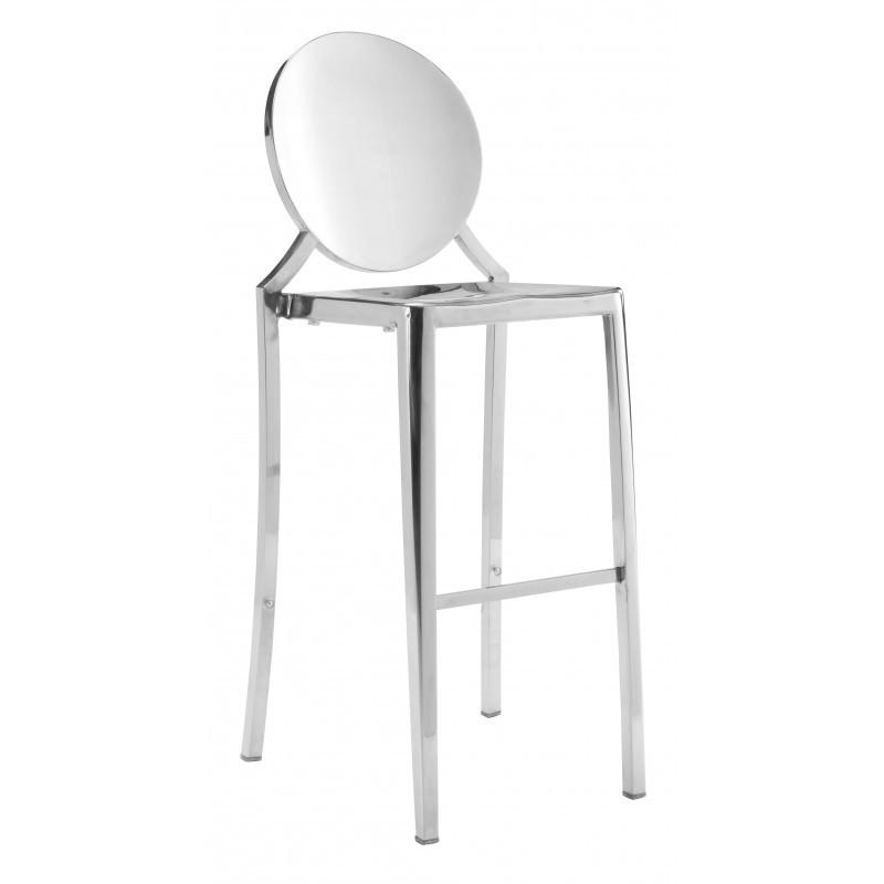 See Details - Eclipse Bar Chair Stainless Steel
