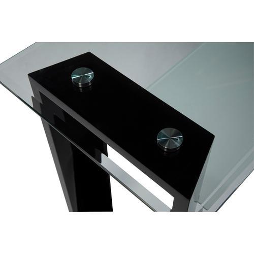 Modena Sofa Table Complete-black