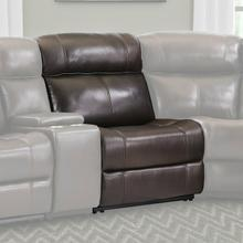 View Product - ECLIPSE - FLORENCE BROWN Power Armless Recliner