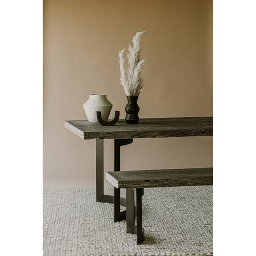 Moe's Home Collection - Bent Dining Table Small Weathered Grey