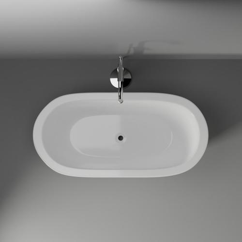 """Product Image - Ollie 55"""" Acrylic Tub"""