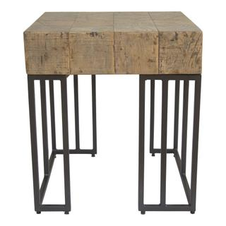 Crosscut Side Table