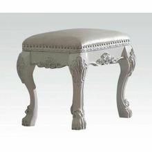 ACME Dresden Vanity Stool - 30671 - Antique White