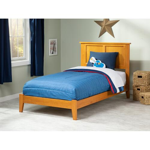 Madison Twin XL Bed in Caramel Latte