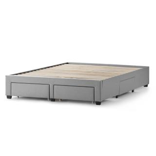 See Details - Watson Platform Bed Base - Queen Charcoal