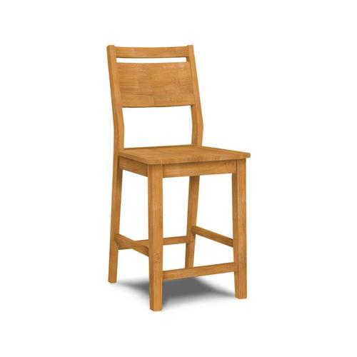 John Thomas Furniture - 24 Inch Aspen Panelback Stool