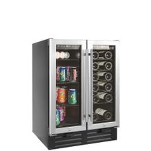 View Product - Built-in/freestanding Beverage Center 19 Bottles + 58 Cans Capacity (3.2 Cubic Feet) - Dual Zone and Seamless Door
