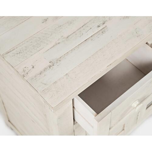 "American Folklore 60"" Console - Antique Cream"