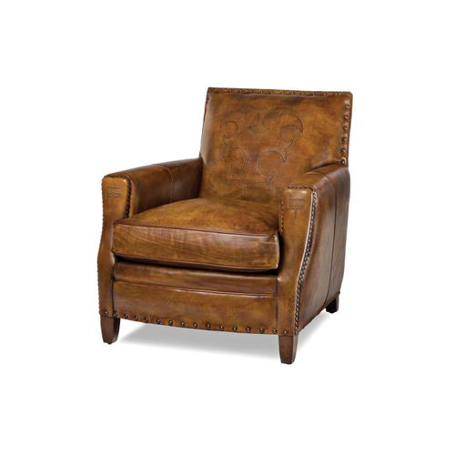 Hancock and Moore - 5331-BA TIGHTMOORE CHAIR WITH BOOTSTITCH ARM