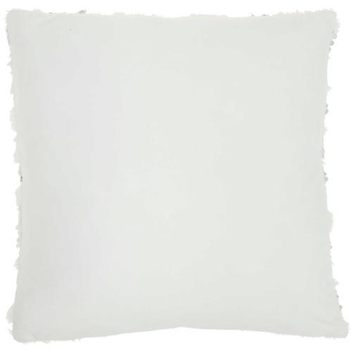 """Sofia Vv212 White 20"""" X 20"""" Throw Pillow"""