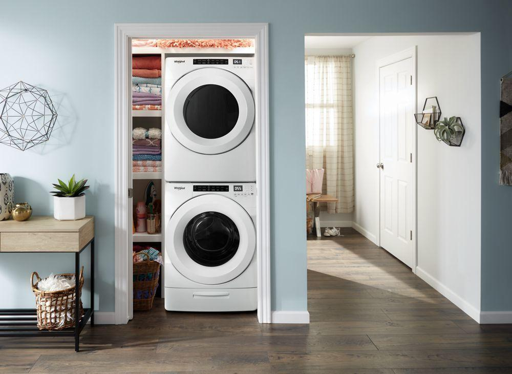 7.4 cu. ft. Front Load Electric Dryer with Intuitive Touch Controls Photo #4