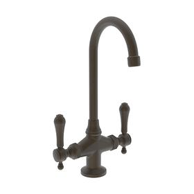 Weathered Brass Prep/Bar Faucet
