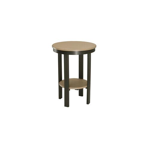 Round Counter Height End Table
