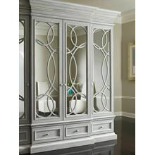 View Product - East Hampton Display/Media Cabinet with Mirrored Doors