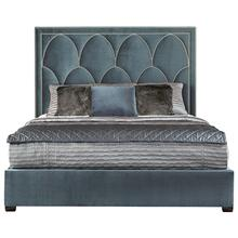 California King-Sized Regan Upholstered Bed in Espresso