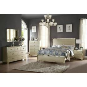 ACME Voeville II Queen Bed - 27140Q - Champagne