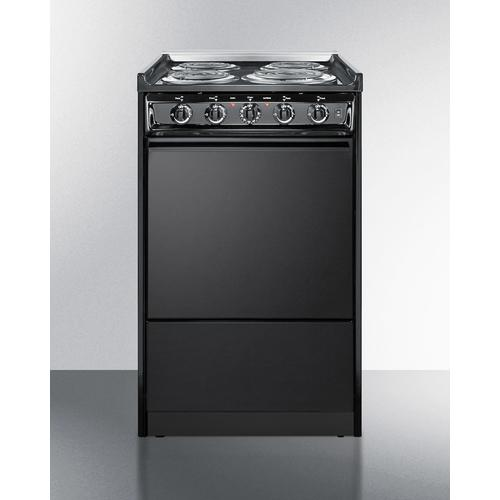 "20"" Wide Electric Coil Range"