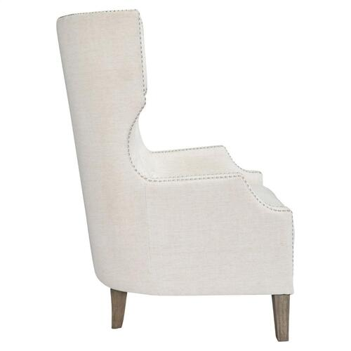 Alice Club Chair Ivory