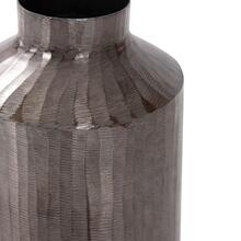 View Product - Carbon Gray Chiseled Aluminum Jar