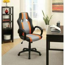ACME Niklaws Office Chair - 92305 - Black & Gray