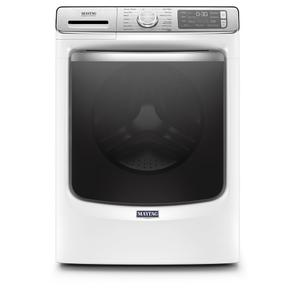 Smart Front Load Washer with Extra Power and 24-Hr Fresh Hold® option - 5.0 cu. ft. - WHITE