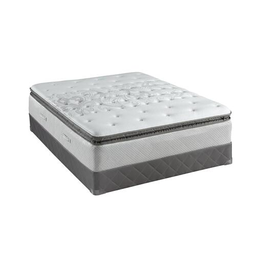 Posturpedic - Gel Series - Buckingham - Cushion Firm - Euro Pillow Top - Queen