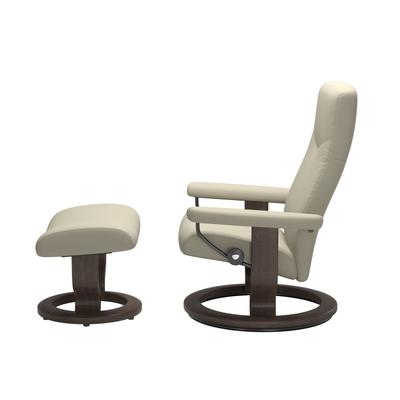 See Details - Stressless® Dover (L) Classic chair with footstool