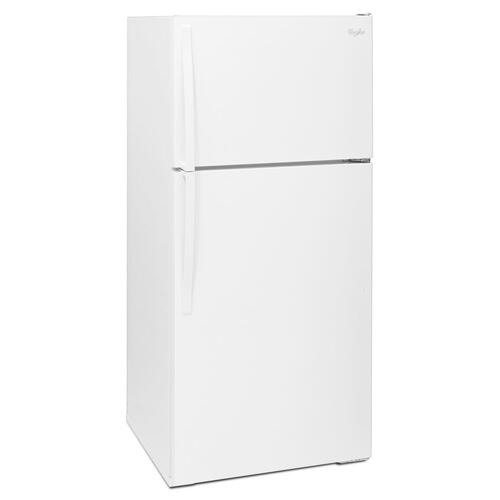 Whirlpool® 28-inches wide Top-Freezer Refrigerator with Optional Icemaker - 14 cu. ft.