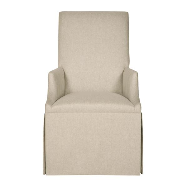 Tessa Skirted Arm Chair