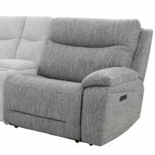 View Product - APOLLO - WEAVE GREY Power Left Arm Facing Recliner