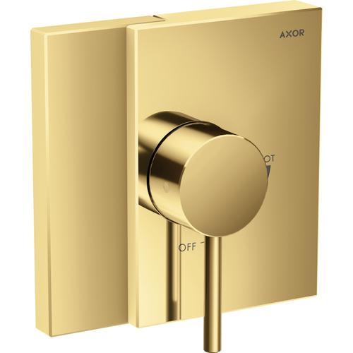 AXOR - Polished Gold Optic Pressure Balance Trim