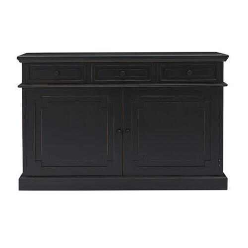 Progressive Furniture - Credenza - Vintage Black Finish