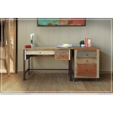 See Details - Writing Desk, Reclaimed Wood finish