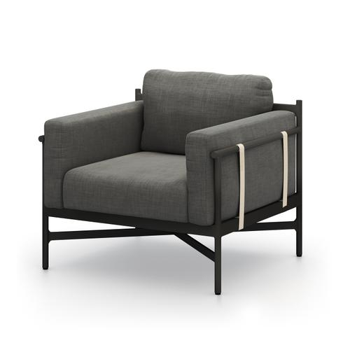 Charcoal Cover Hearst Outdoor Chair