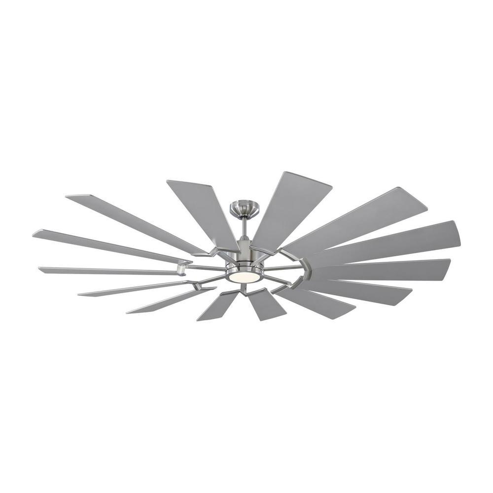 See Details - Prairie 72 LED - Brushed Steel