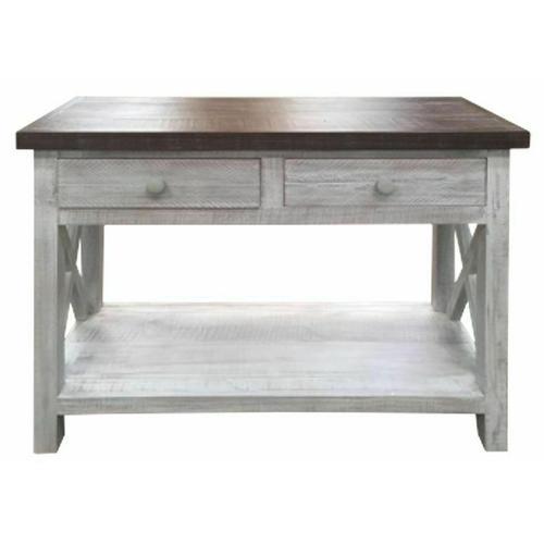 Million Dollar Rustic - Farmhouse X Brace Sofa Table