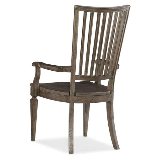 Dining Room Woodlands Wood Back Arm Chair - 2 per carton/price ea