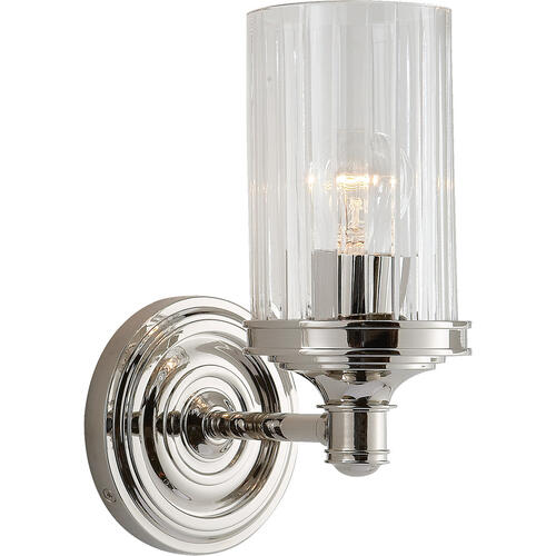Visual Comfort - Alexa Hampton Ava 1 Light 5 inch Polished Nickel Single Sconce Wall Light
