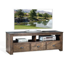 """See Details - Homestead 74"""" TV Console w/ 3 Drawers"""