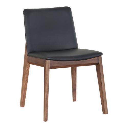 Deco Dining Chair Black Pvc-m2