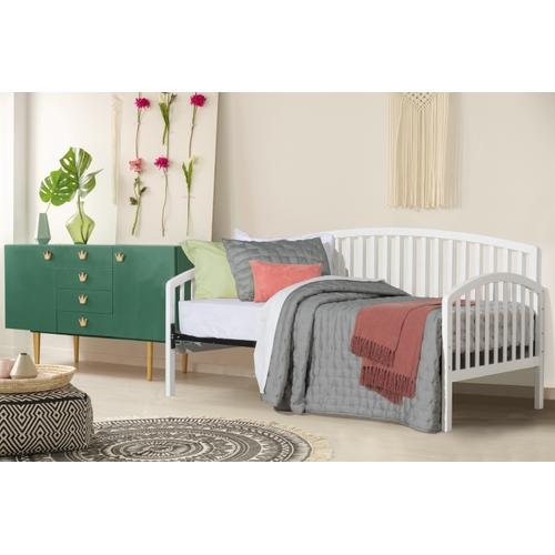 Carolina Complete Twin Size Daybed, White