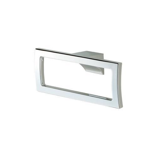 G-Series Square Towel Ring - Brushed Nickel