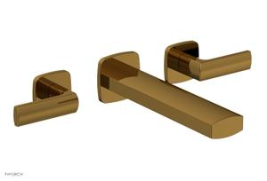 RADI Wall Lavatory Set - Lever Handles 181-12 - French Brass Product Image