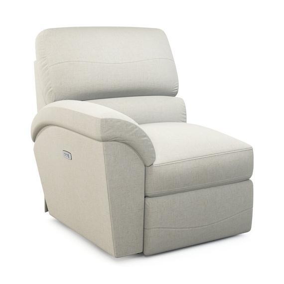 La-Z-Boy - Reese Power La-Z-Time Right-Arm Sitting Recliner
